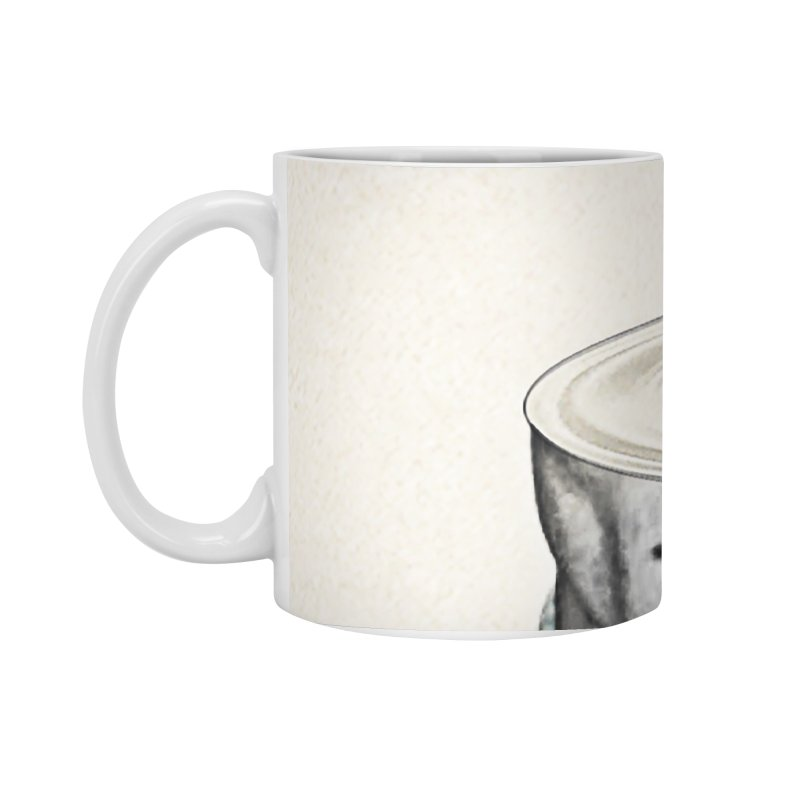 Head Space Accessories Standard Mug by Vin Zzep's Artist Shop