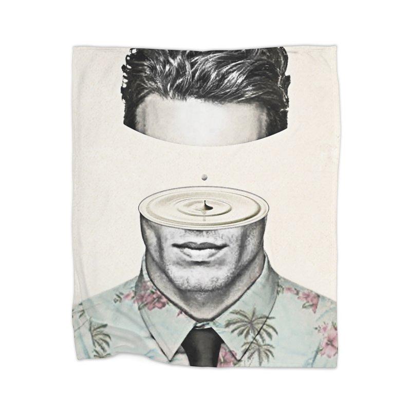 Head Space Home Blanket by Vin Zzep's Artist Shop