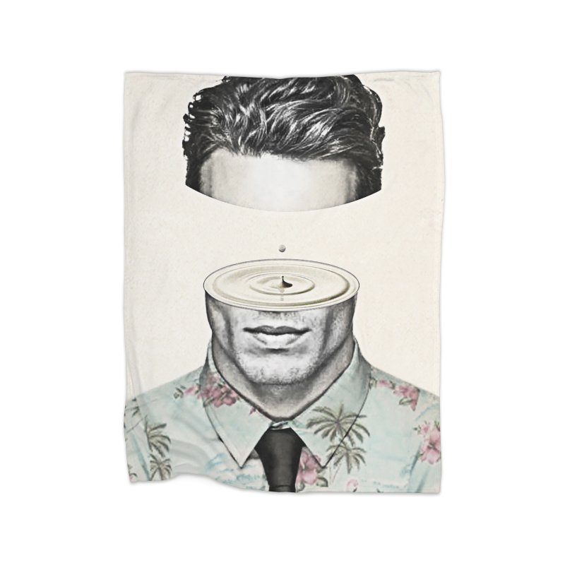Head Space Home Fleece Blanket Blanket by Vin Zzep's Artist Shop