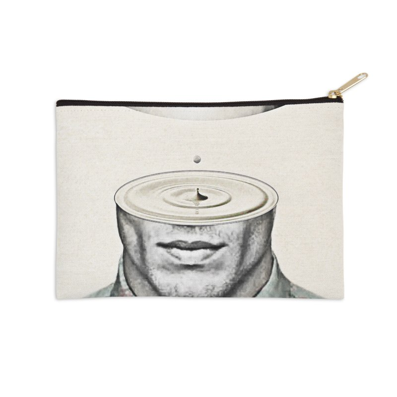 Head Space Accessories Zip Pouch by Vin Zzep's Artist Shop