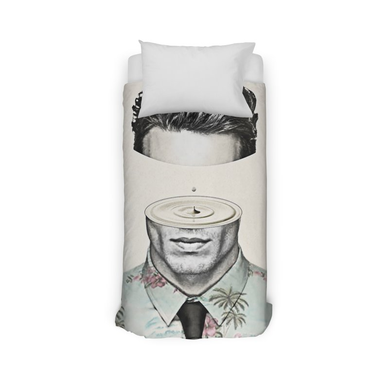 Head Space Home Duvet by Vin Zzep's Artist Shop