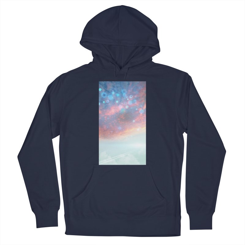 Teal SKY Men's Pullover Hoody by Vin Zzep's Artist Shop