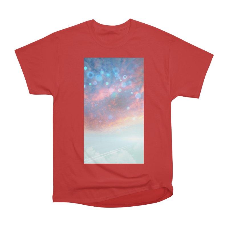 Teal SKY Women's Heavyweight Unisex T-Shirt by Vin Zzep's Artist Shop