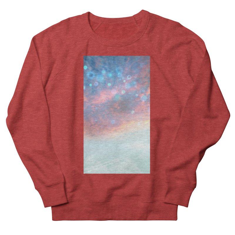 Teal SKY Women's French Terry Sweatshirt by Vin Zzep's Artist Shop