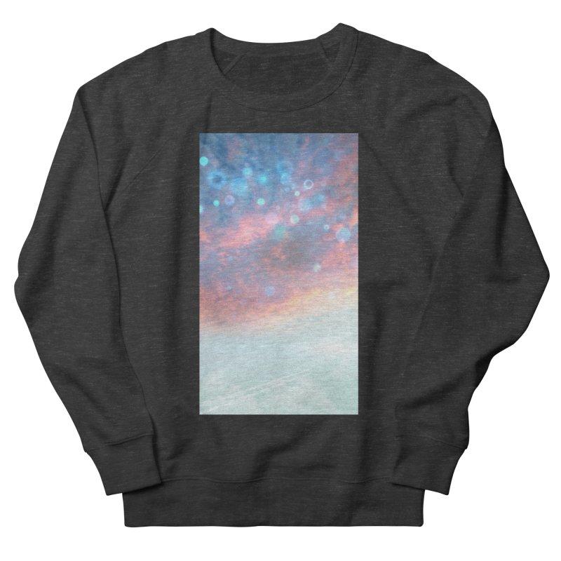 Teal SKY Men's Sweatshirt by Vin Zzep's Artist Shop