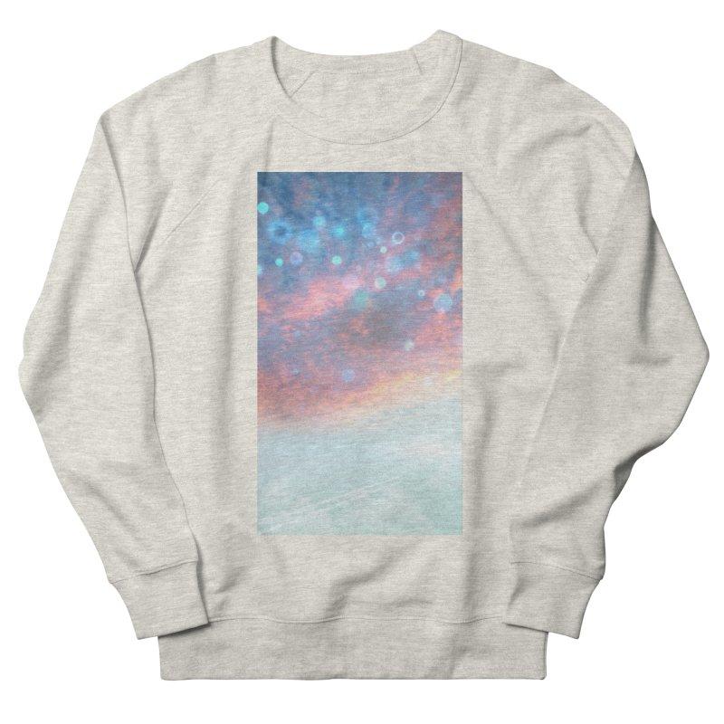 Teal SKY Men's French Terry Sweatshirt by Vin Zzep's Artist Shop