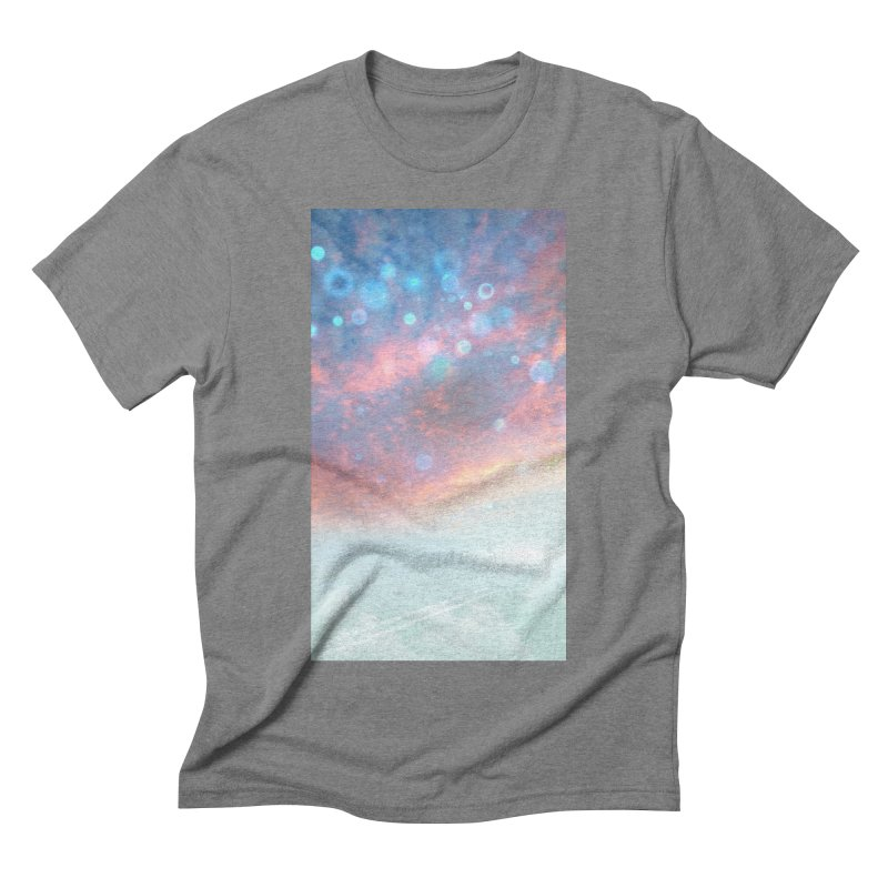 Teal SKY Men's Triblend T-Shirt by Vin Zzep's Artist Shop