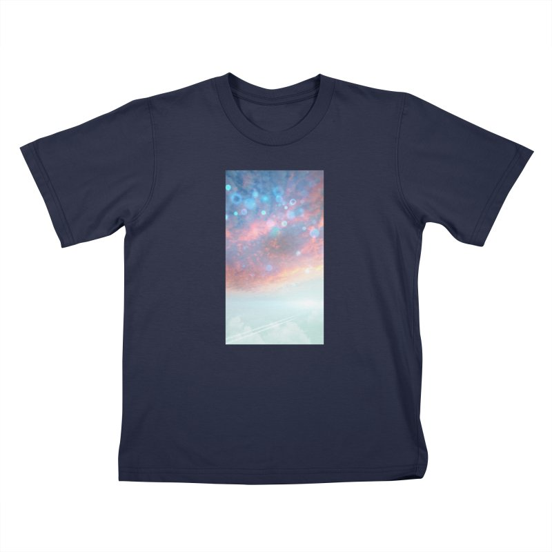 Teal SKY Kids Toddler T-Shirt by Vin Zzep's Artist Shop