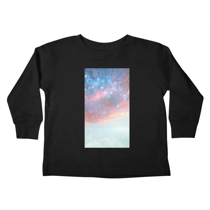 Teal SKY Kids Toddler Longsleeve T-Shirt by Vin Zzep's Artist Shop