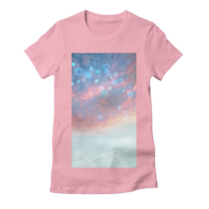 Teal SKY Women's T-Shirt by Vin Zzep's Artist Shop