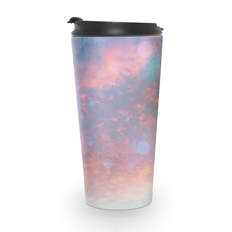 Teal SKY Accessories Travel Mug by Vin Zzep's Artist Shop