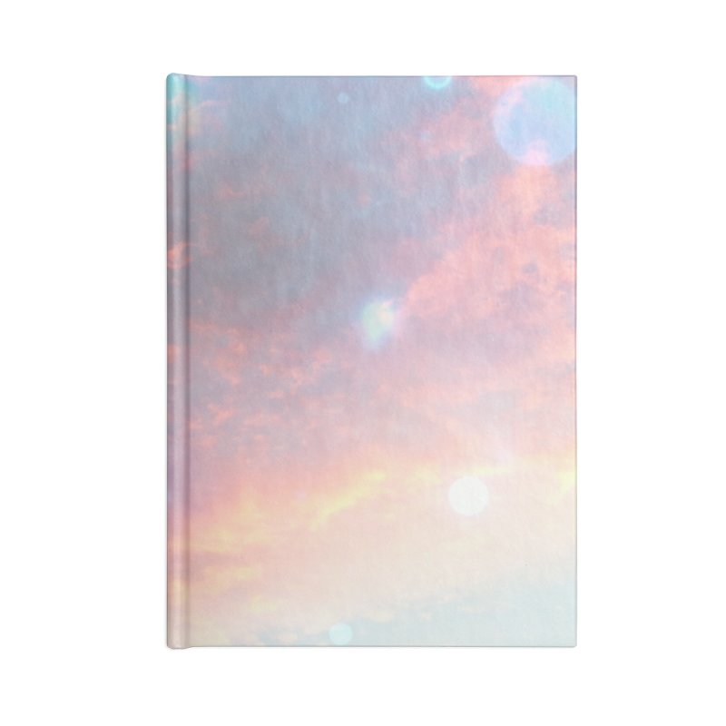 Teal SKY Accessories Notebook by Vin Zzep's Artist Shop