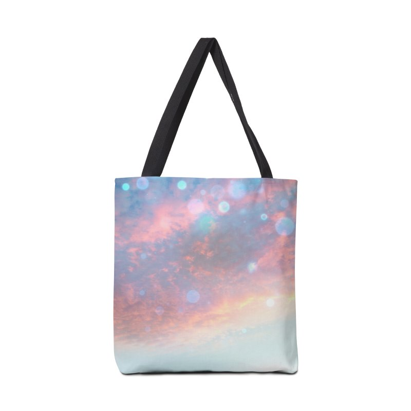 Teal SKY Accessories Bag by Vin Zzep's Artist Shop