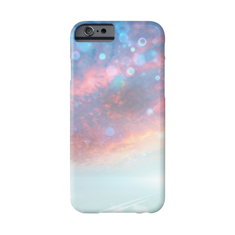 Teal SKY Accessories Phone Case by Vin Zzep's Artist Shop