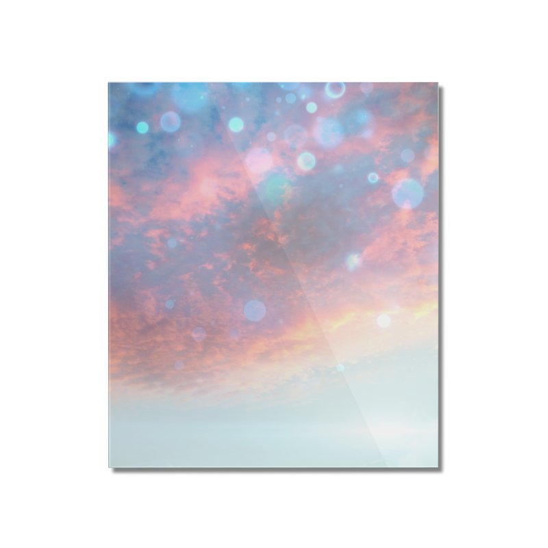 Teal SKY Home Mounted Acrylic Print by Vin Zzep's Artist Shop