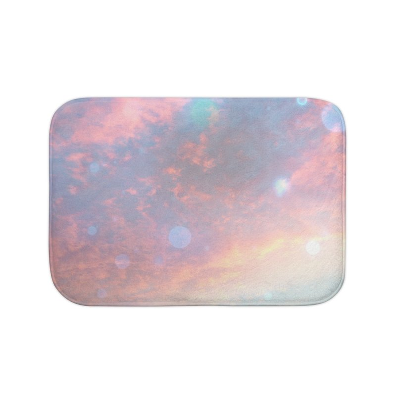 Teal SKY Home Bath Mat by Vin Zzep's Artist Shop