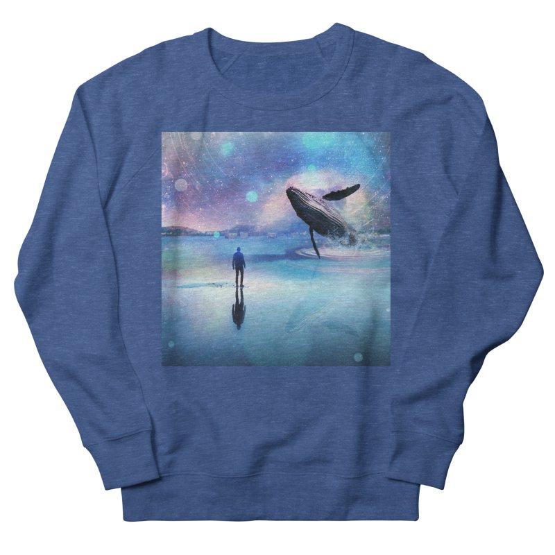 The Sound of Whales Men's Sweatshirt by Vin Zzep's Artist Shop