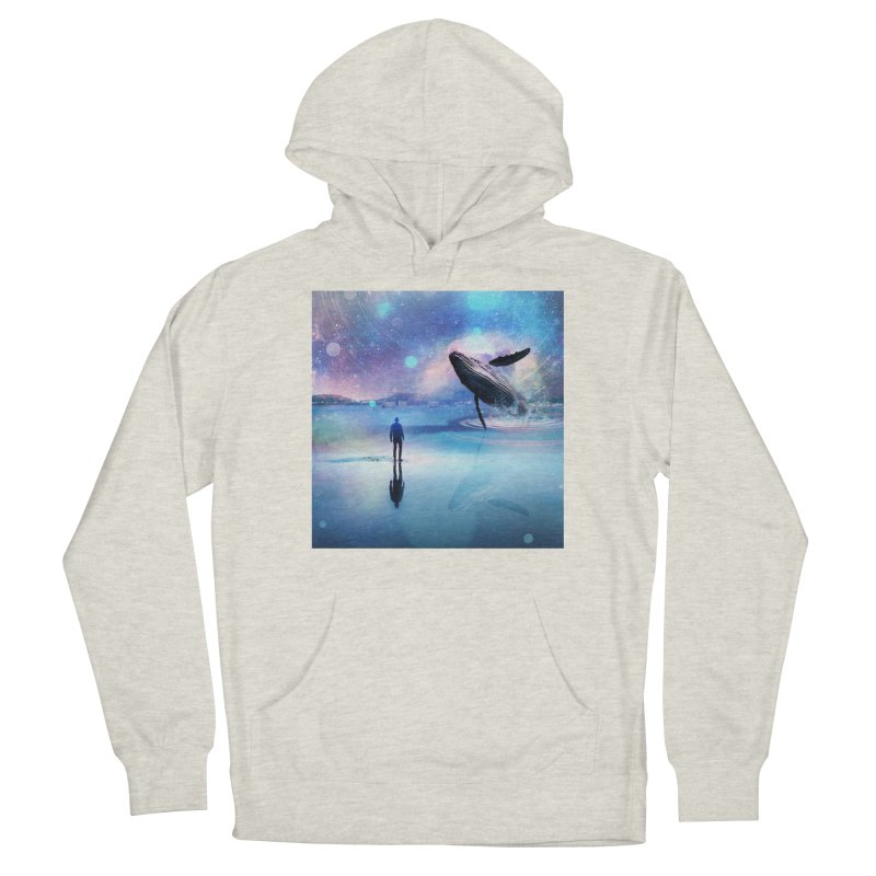 The Sound of Whales Men's Pullover Hoody by Vin Zzep's Artist Shop