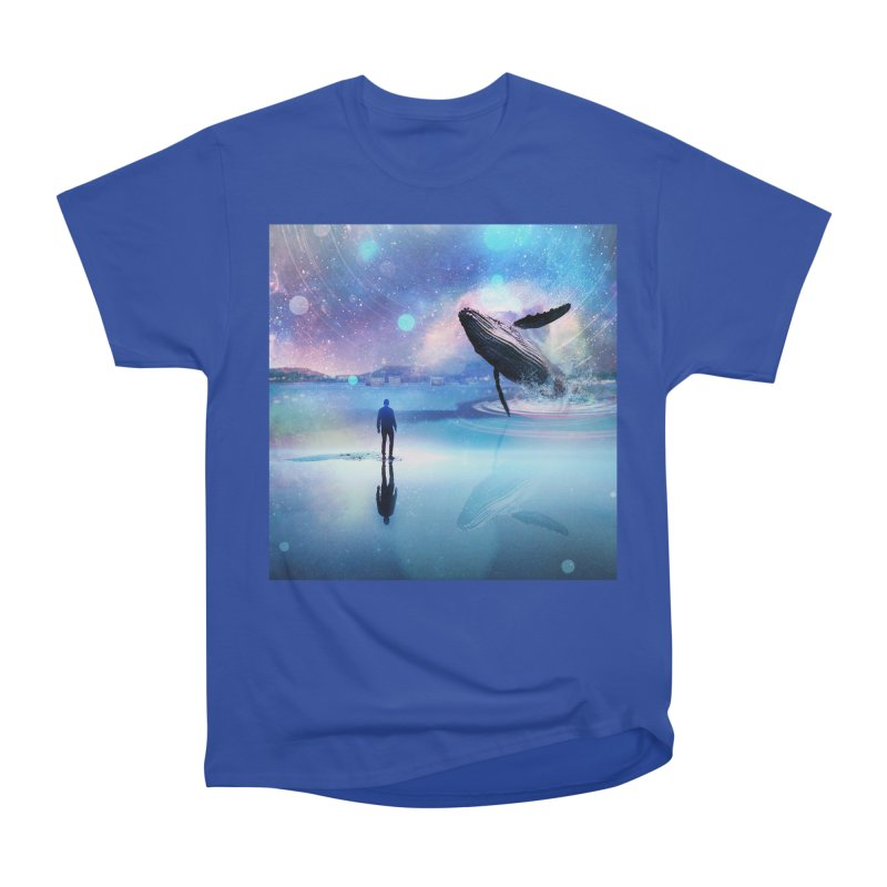 The Sound of Whales Men's Heavyweight T-Shirt by Vin Zzep's Artist Shop