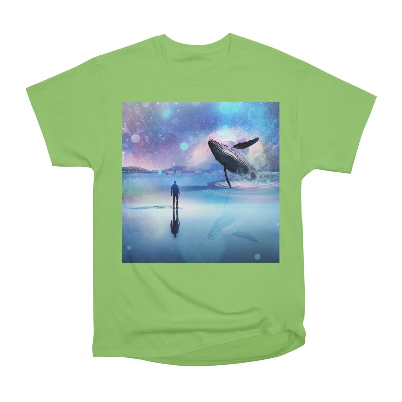 The Sound of Whales Women's Heavyweight Unisex T-Shirt by Vin Zzep's Artist Shop