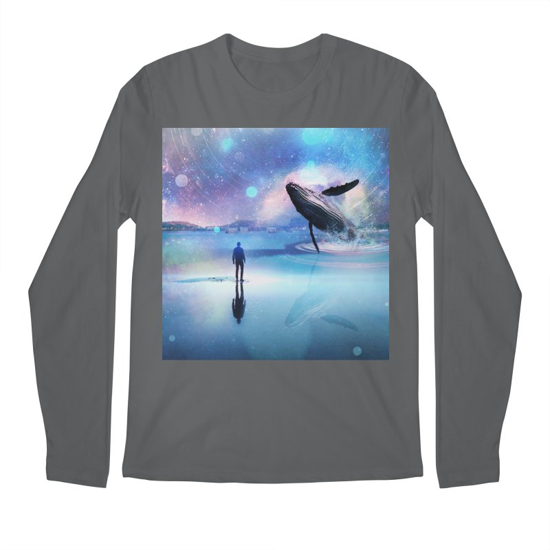 The Sound of Whales Men's Regular Longsleeve T-Shirt by Vin Zzep's Artist Shop