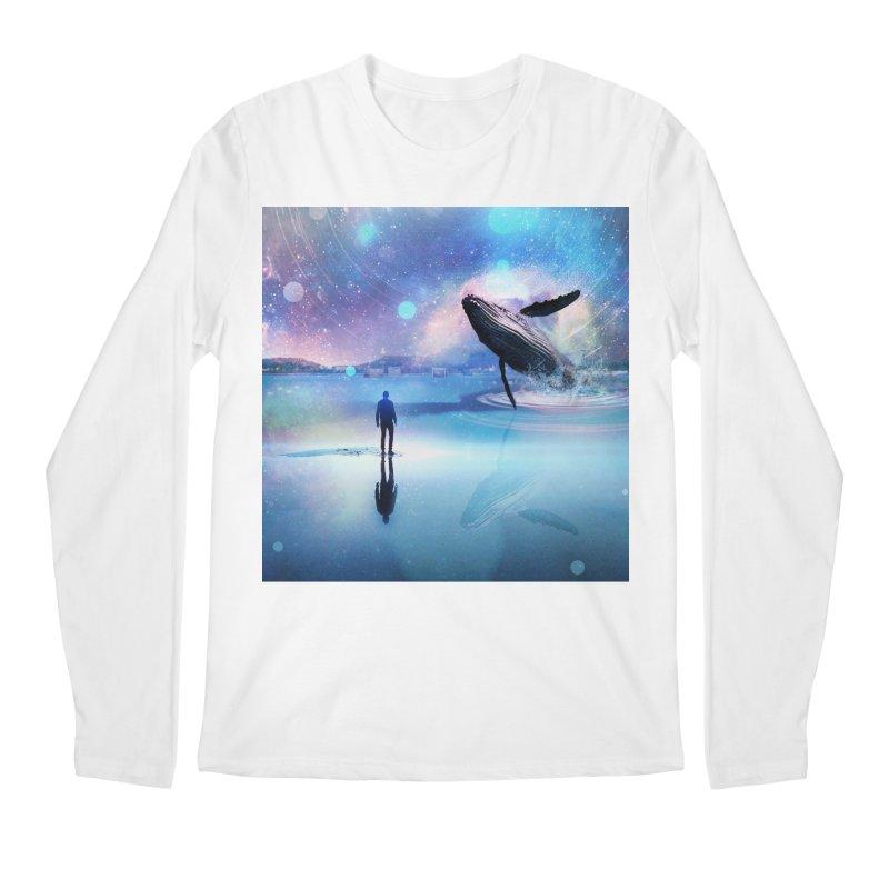 The Sound of Whales Men's Regular Longsleeve T-Shirt by Vin Zzep's Artist Shop