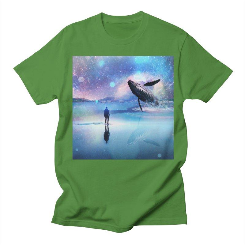 The Sound of Whales Men's Regular T-Shirt by Vin Zzep's Artist Shop