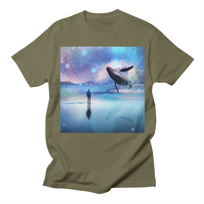 The Sound of Whales Men's Regular T-Shirt by Vin Zzep's Artist Shop