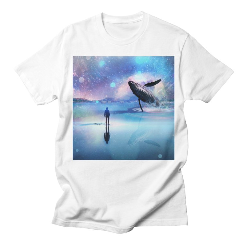 The Sound of Whales Women's Regular Unisex T-Shirt by Vin Zzep's Artist Shop