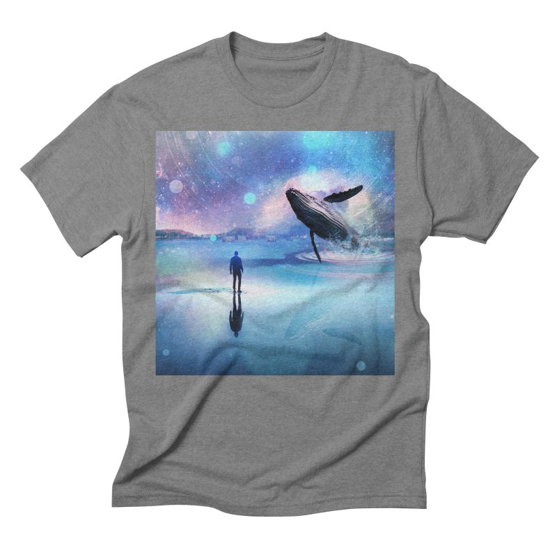 The Sound of Whales Men's Triblend T-Shirt by Vin Zzep's Artist Shop