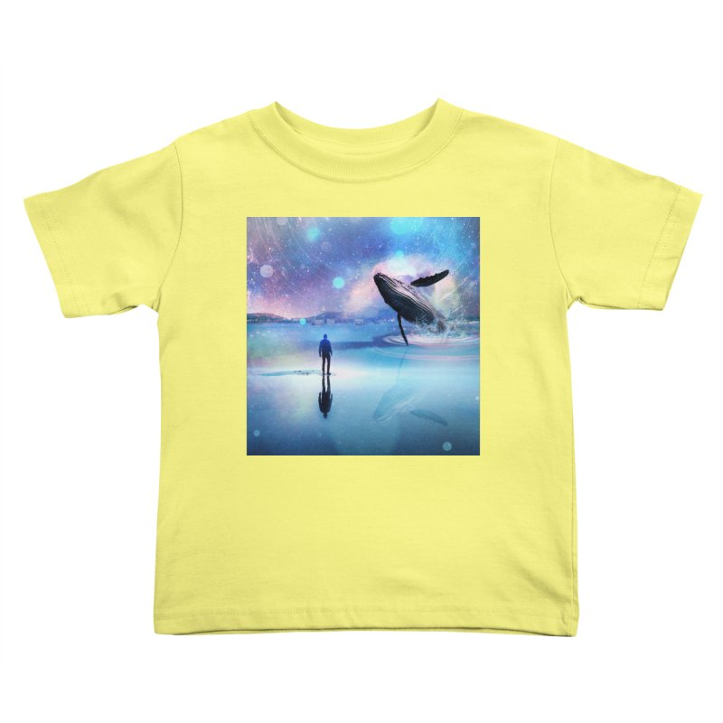 The Sound of Whales Kids Toddler T-Shirt by Vin Zzep's Artist Shop