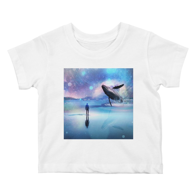 The Sound of Whales Kids Baby T-Shirt by Vin Zzep's Artist Shop