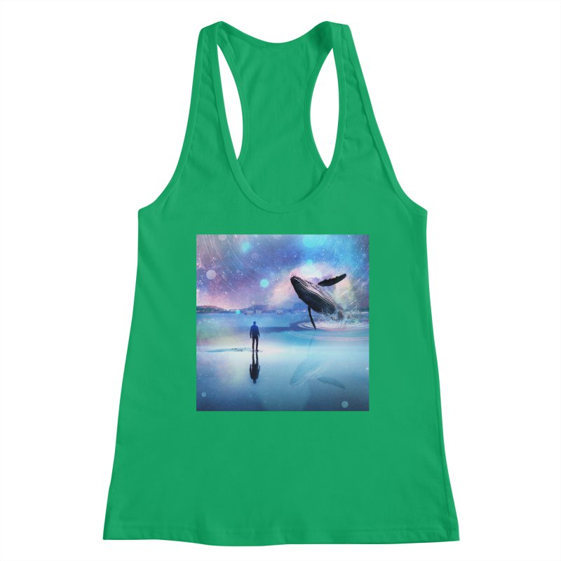 The Sound of Whales Women's Tank by Vin Zzep's Artist Shop