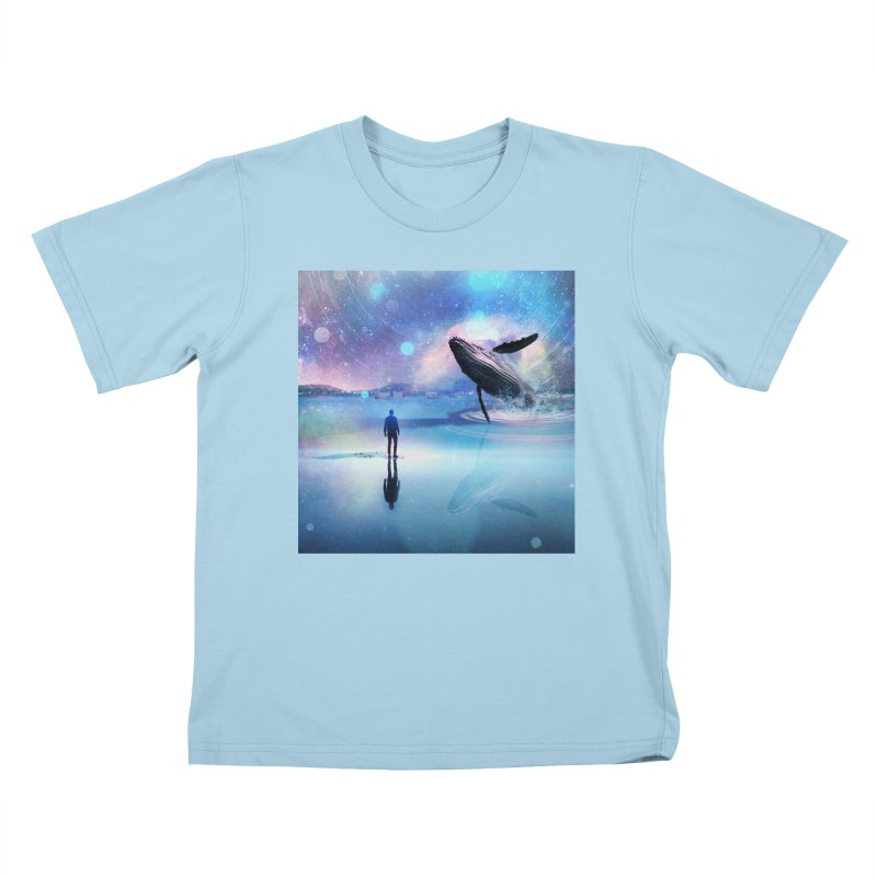 The Sound of Whales Kids T-Shirt by Vin Zzep's Artist Shop