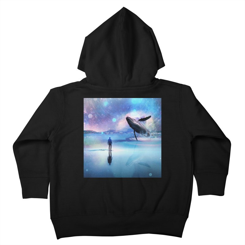 The Sound of Whales Kids Toddler Zip-Up Hoody by Vin Zzep's Artist Shop