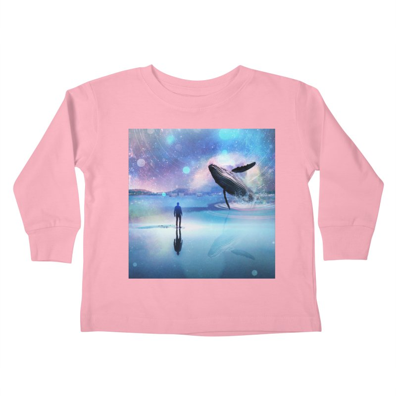 The Sound of Whales Kids Toddler Longsleeve T-Shirt by Vin Zzep's Artist Shop