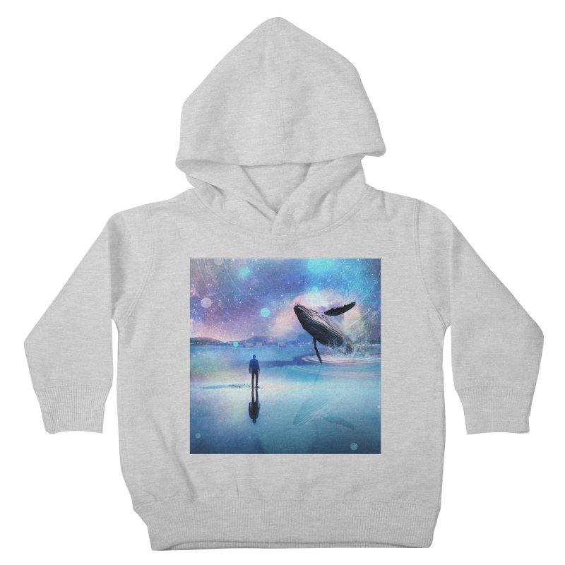 The Sound of Whales Kids Toddler Pullover Hoody by Vin Zzep's Artist Shop