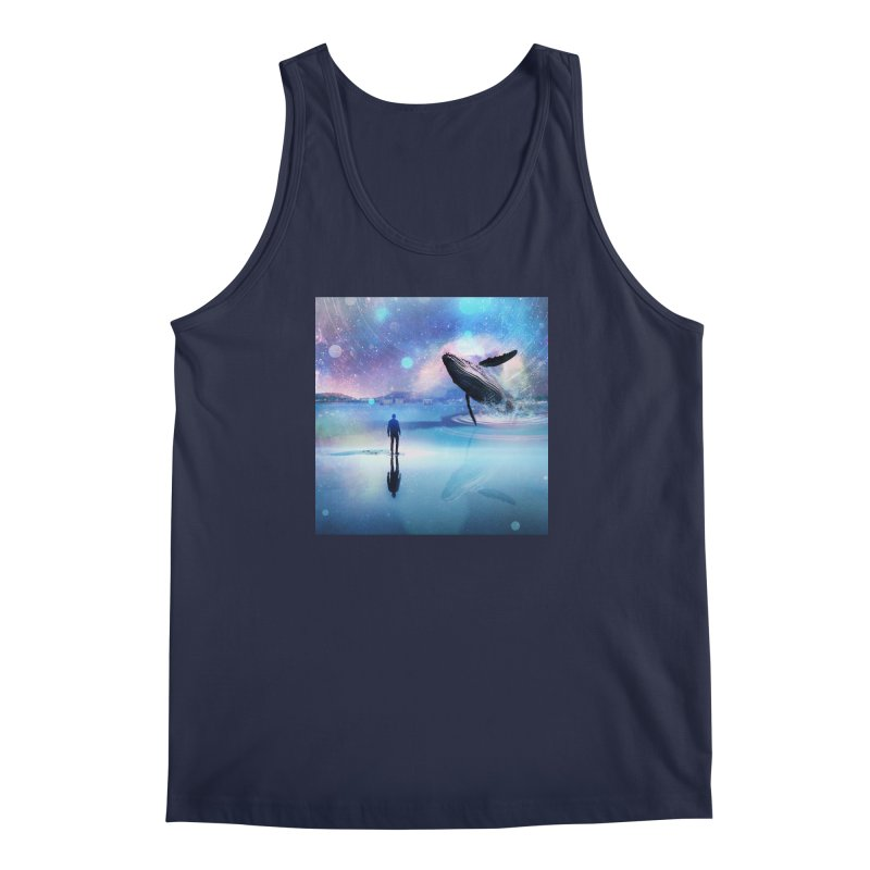 The Sound of Whales Men's Regular Tank by Vin Zzep's Artist Shop