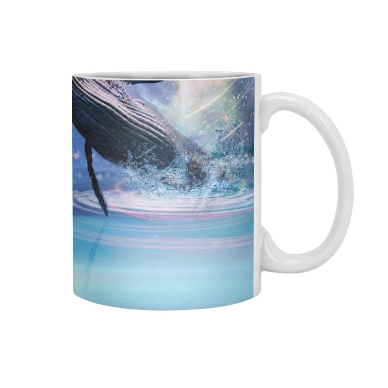 The Sound of Whales Accessories Mug by Vin Zzep's Artist Shop