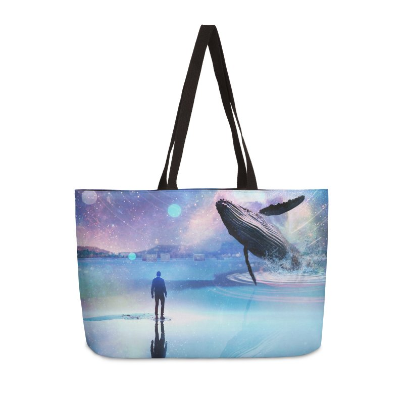 The Sound of Whales Accessories Weekender Bag Bag by Vin Zzep's Artist Shop