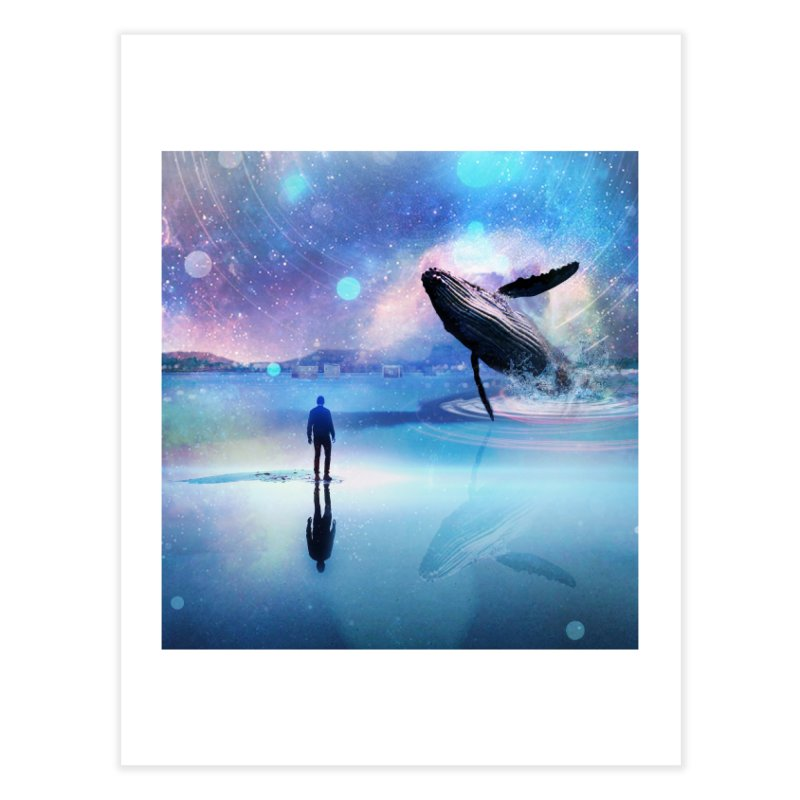 The Sound of Whales Home Fine Art Print by Vin Zzep's Artist Shop