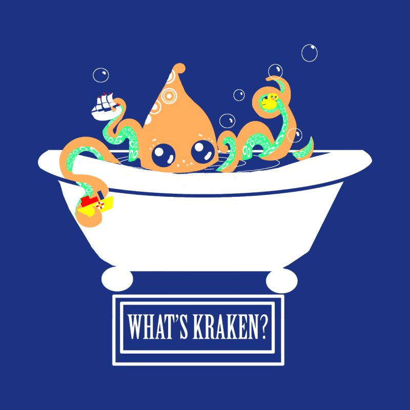 What's Kraken Men's T-Shirt by violetCreations's Artist Shop