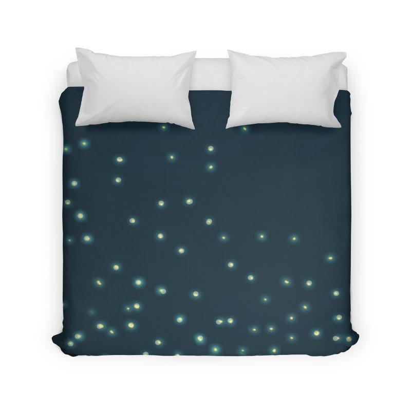 Fireflies Home Duvet by violetCreations's Artist Shop