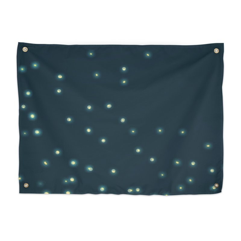 Fireflies Home Tapestry by violetCreations's Artist Shop