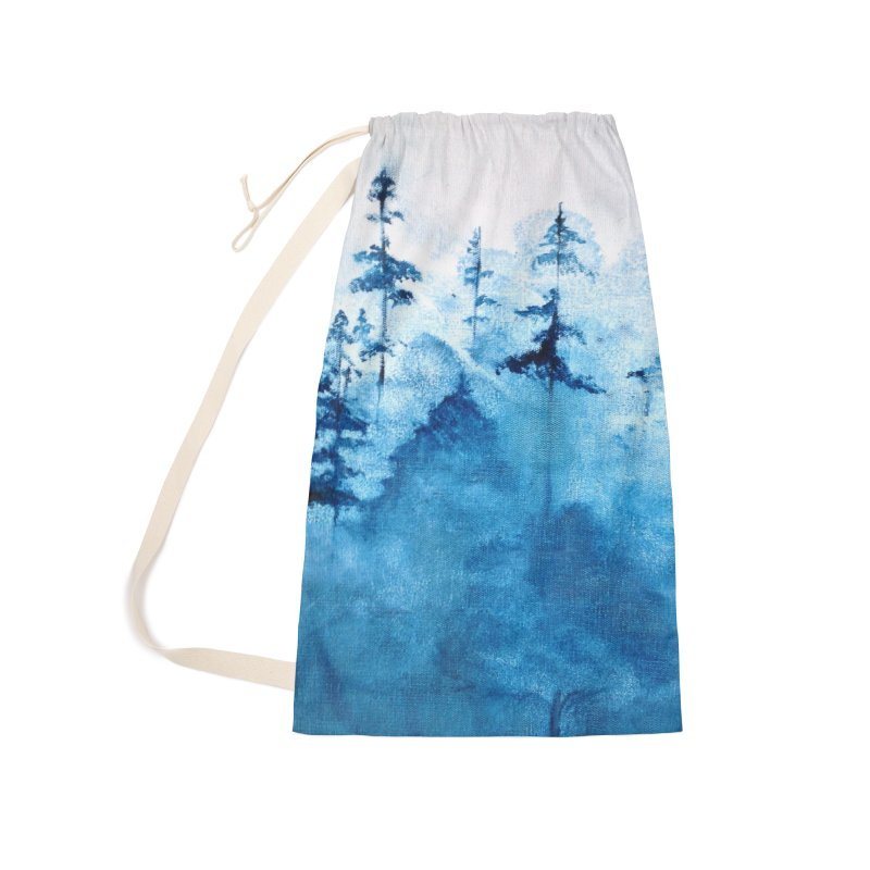 Blue Forest Accessories Bag by violetCreations's Artist Shop