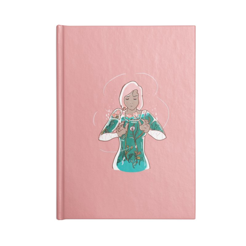 Healing of Korra Accessories Notebook by violetCreations's Artist Shop