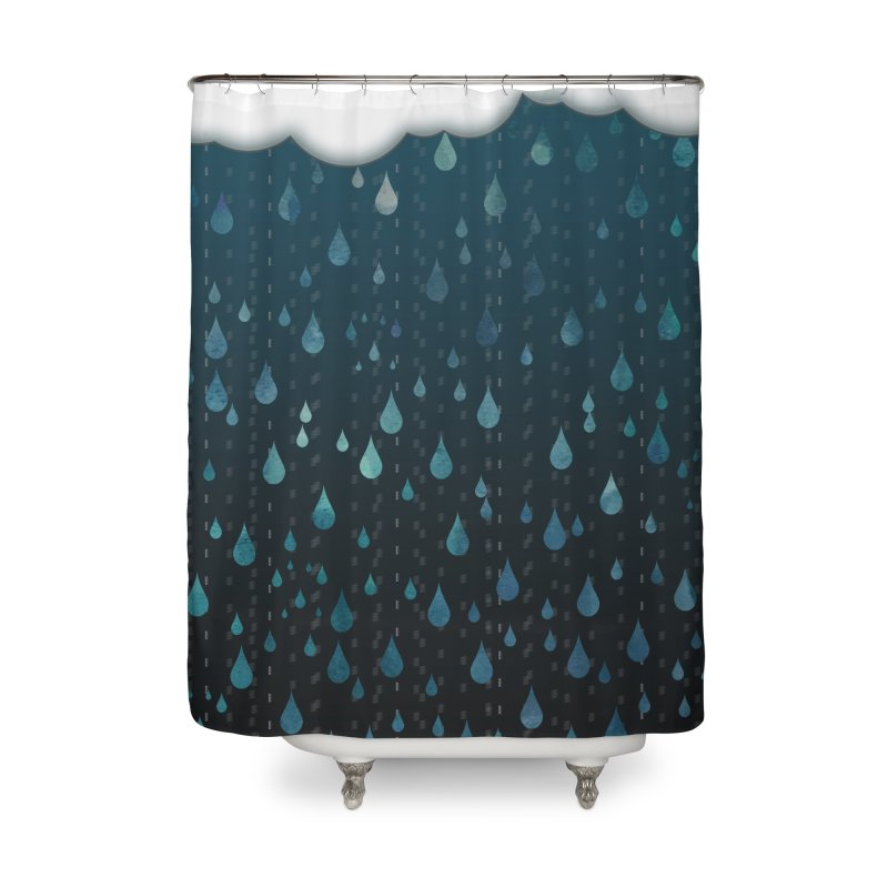 Rainy Day Home Shower Curtain by violetCreations's Artist Shop