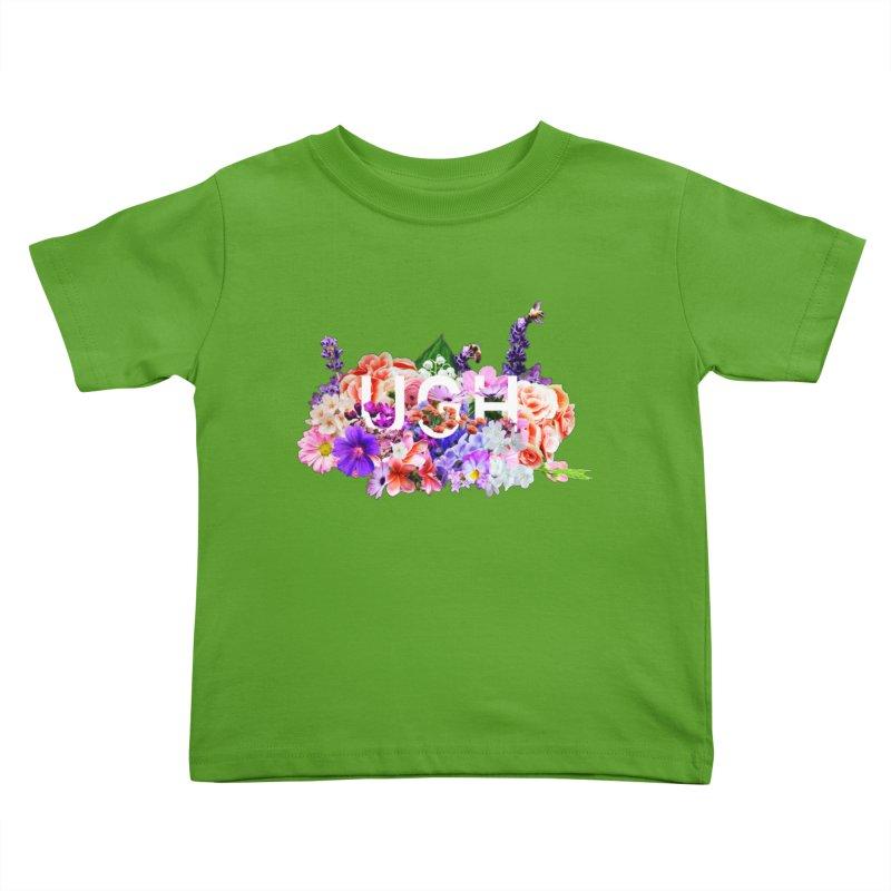 Ugh Kids Toddler T-Shirt by violetCreations's Artist Shop