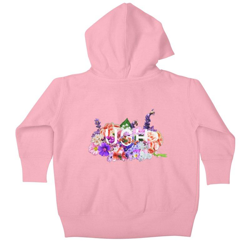 Ugh Kids Baby Zip-Up Hoody by violetCreations's Artist Shop