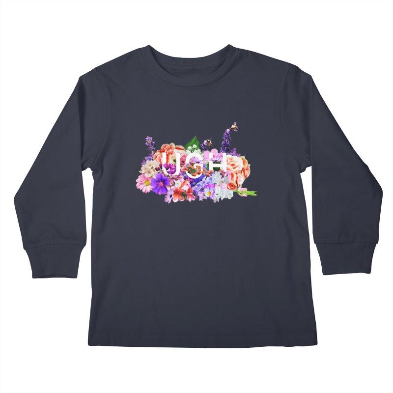 Ugh Kids Longsleeve T-Shirt by violetCreations's Artist Shop